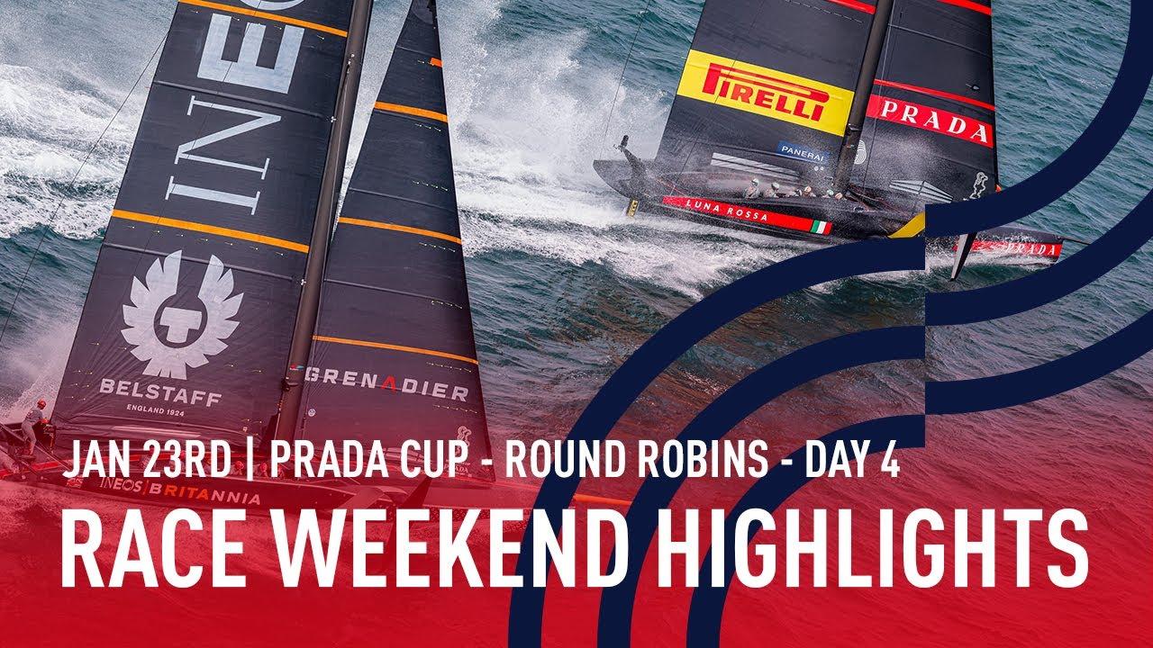 PRADA Cup Race Weekend 2 Highlights
