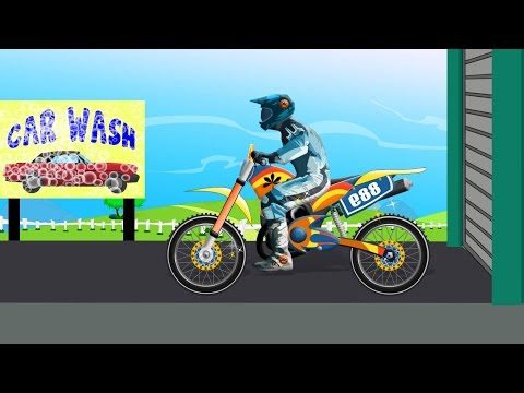 Thumbnail: Bike Car Wash | Toy Bike For Kids | Videos For Children | Baby Videos