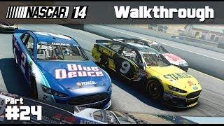 NASCAR 14 Game: Career Mode Part 24 - Michigan (PC Gameplay)