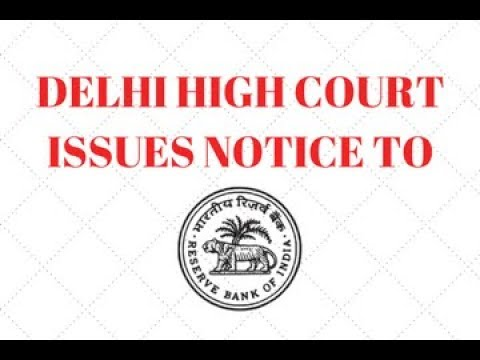 RBI Ban Update: Delhi High Court issues notice to RBI (In Hindi)