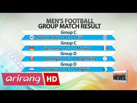 Rio 2016: S. Korea wins first group football match against Fiji