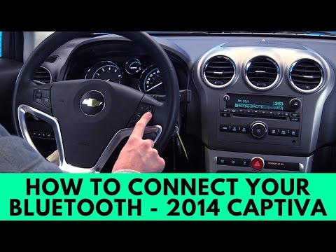 2014 Chevrolet Captiva How To Connect Bluetooth Youtube