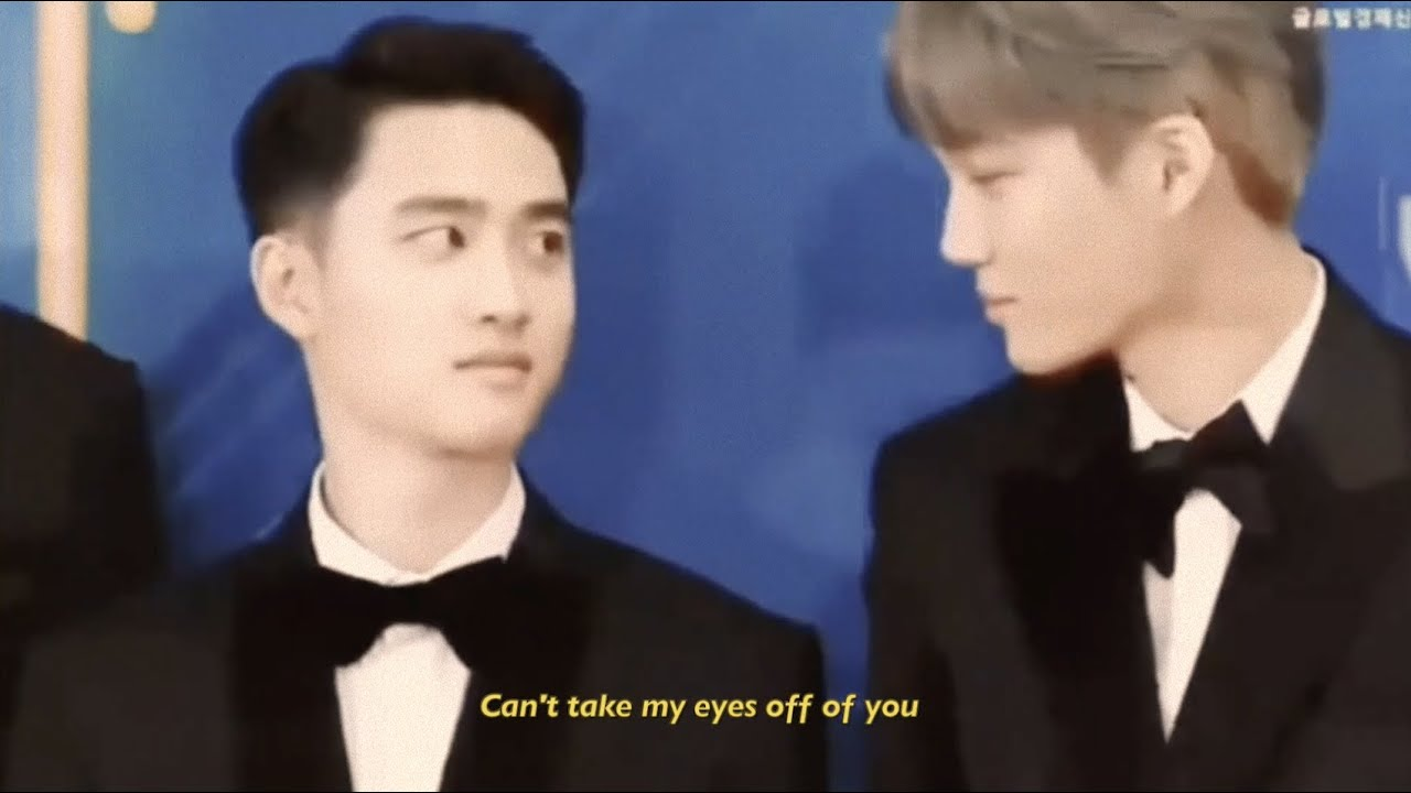 Kaisoo Edit - Can't Take My Eyes Off You (I love you baby) 🎶♡