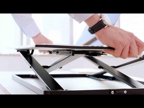 Ultra Slim Height Adjustable Standing Desk - PrimeCables®