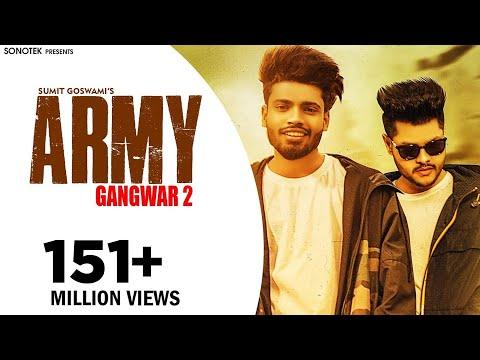 SUMIT GOSWAMI - ARMY (GANGWAR 2) | SHANKY GOSWAMI | New Haryanvi Songs Haryanavi 2019| SONOTEK
