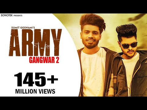 Army Lyrics – Sumit Goswami | Haryanvi Song | theLyrically