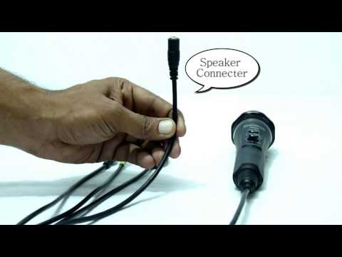 Connecting The MeraGana Wonder Mixer Microphone To A Mobile Or Cell Phone For Karaoke Or Singalong