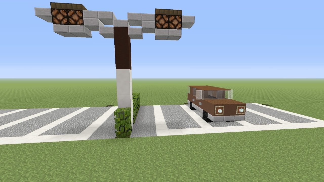 Minecraft ps4 tuto voiture et lampadaire ps3 ps4 pc xbox for Tuto maison moderne minecraft xbox 360