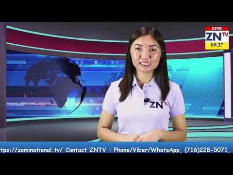 Zomi National TV News # 23 Program, May 10, 2019