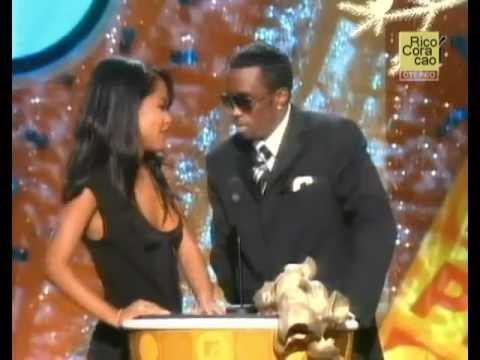 Aaliyah & Diddy | At the Movie Awards 2001 | HQ (Rare)