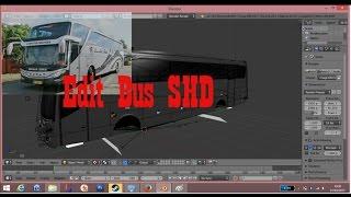 Ets2 | Proses Edit Body Bus Setra Shd #part 1 | aplikasi Blender