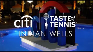 Citi Taste Of Tennis Indian Wells Live!!!! Monday March 4th!