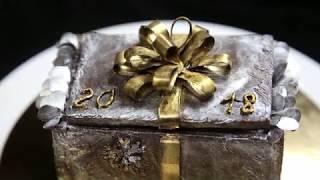 не МК :) подарок начальнику кондитерского цеха Шоколадная шкатулка