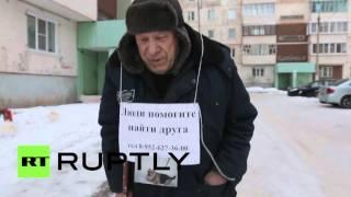 «Помогите найти друга»: пенсионер из Братска две недели ждет на улице пропавшую собаку