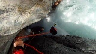 Kayak sur le Guil - bains, carnage et sauvetages...