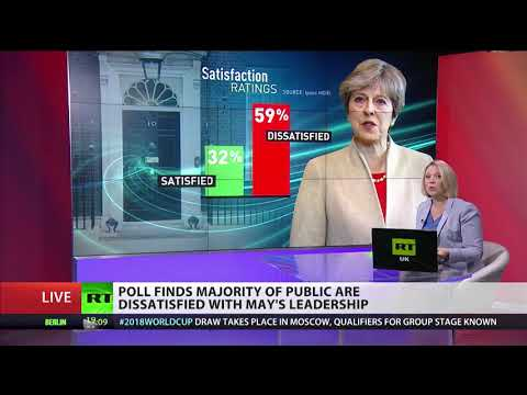 Theresa May's leadership rating drops to its lowest ever