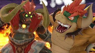 Play As Giga Bowser in Super Smash Bros Ultimate Vs All Bosses + Final Boss
