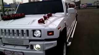 Лимузин Хаммер белый на свадьбу - 093-655-1-655