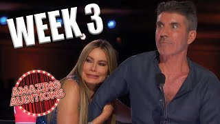 America's Got Talent 2021 TOP 3 BEST Auditions From WEEK 3   Amazing Auditions