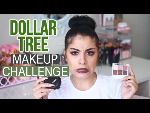 Full Face Using Dollar Tree Makeup Challenge | MAKEUP DISASTER