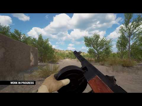 Squad: PPSH-41 New Animation Preview - New Animation System (May 2017)