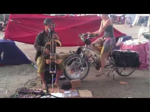 Bike Girl at Eclipse 2012 Festival