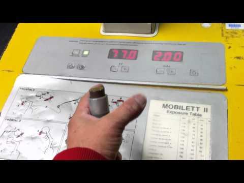 Siemens Mobilett Portable X-Ray