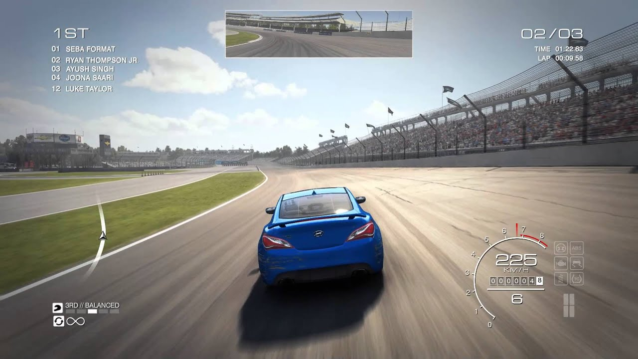 GRID Autosport Hyundai Genesis Coupe Track Top Speed