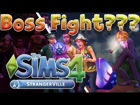[SPOILER]UNA BOSS FIGHT SU THE SIMS 4 STRANGERVILLE ITA? thumbnail