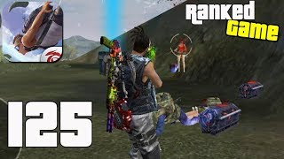 Free Fire: Battlegrounds - Gameplay part 125 - Squad 10 Kills Ranked Game BOOYAH!🤩 (iOS, Android)