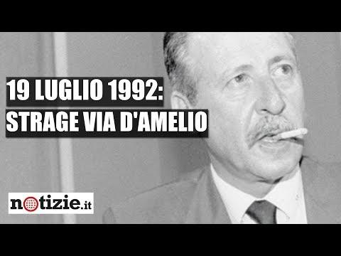 Strage di Via d'Amelio: il 19 luglio 1992 ci lasciava Paolo Borsellino | Notizie.it