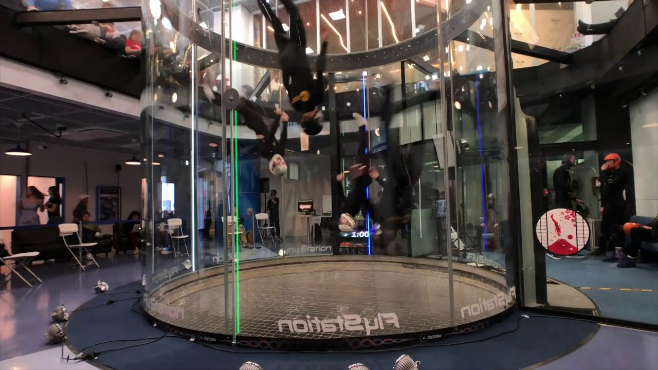 Indoor skydiving competition - Sakura Cup