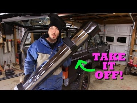 How To Remove A Jeep Cherokee Rear Bumper