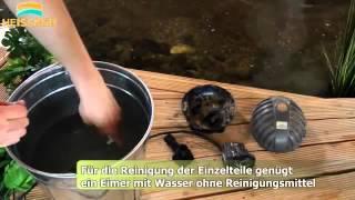 видео Насосы для водопадов и фонтанов: для прудов, садового бассейна на даче, как выбрать, мини-насосы, помпы, небольшой, погружной
