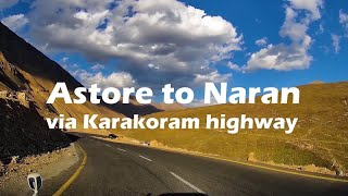 Astore to Naran via KKH & Babusar top [4K]