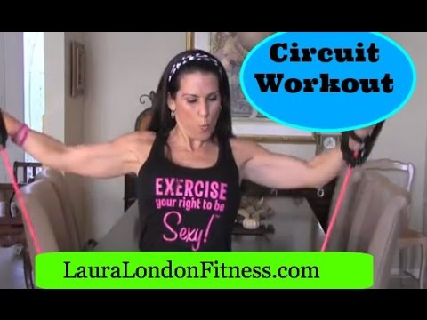 Can you say Circuit Workout with Laura London