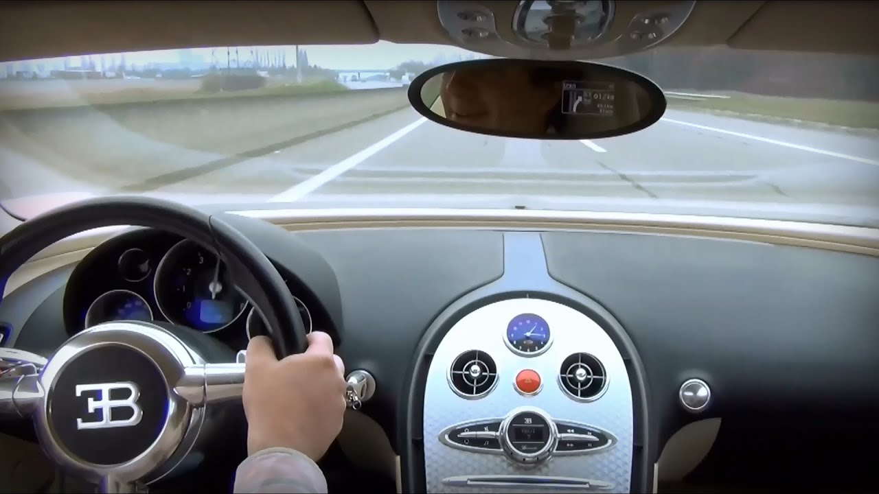 pov drive veyron test drive experience youtube. Black Bedroom Furniture Sets. Home Design Ideas
