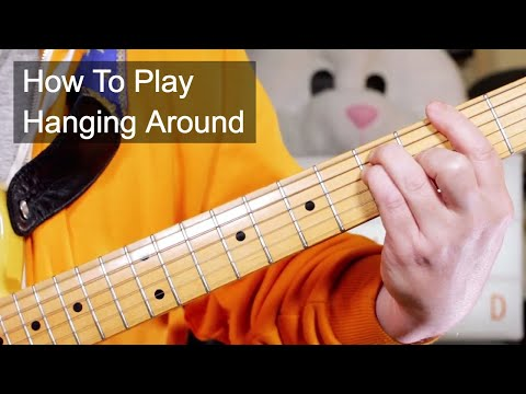 'Hanging Around' The Stranglers Guitar Lesson