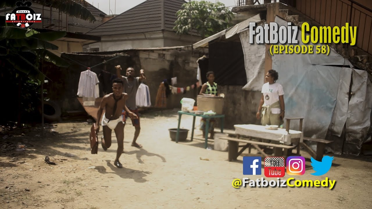 BOTTLE OF EGUSI SOUP (Fatboiz Comedy)