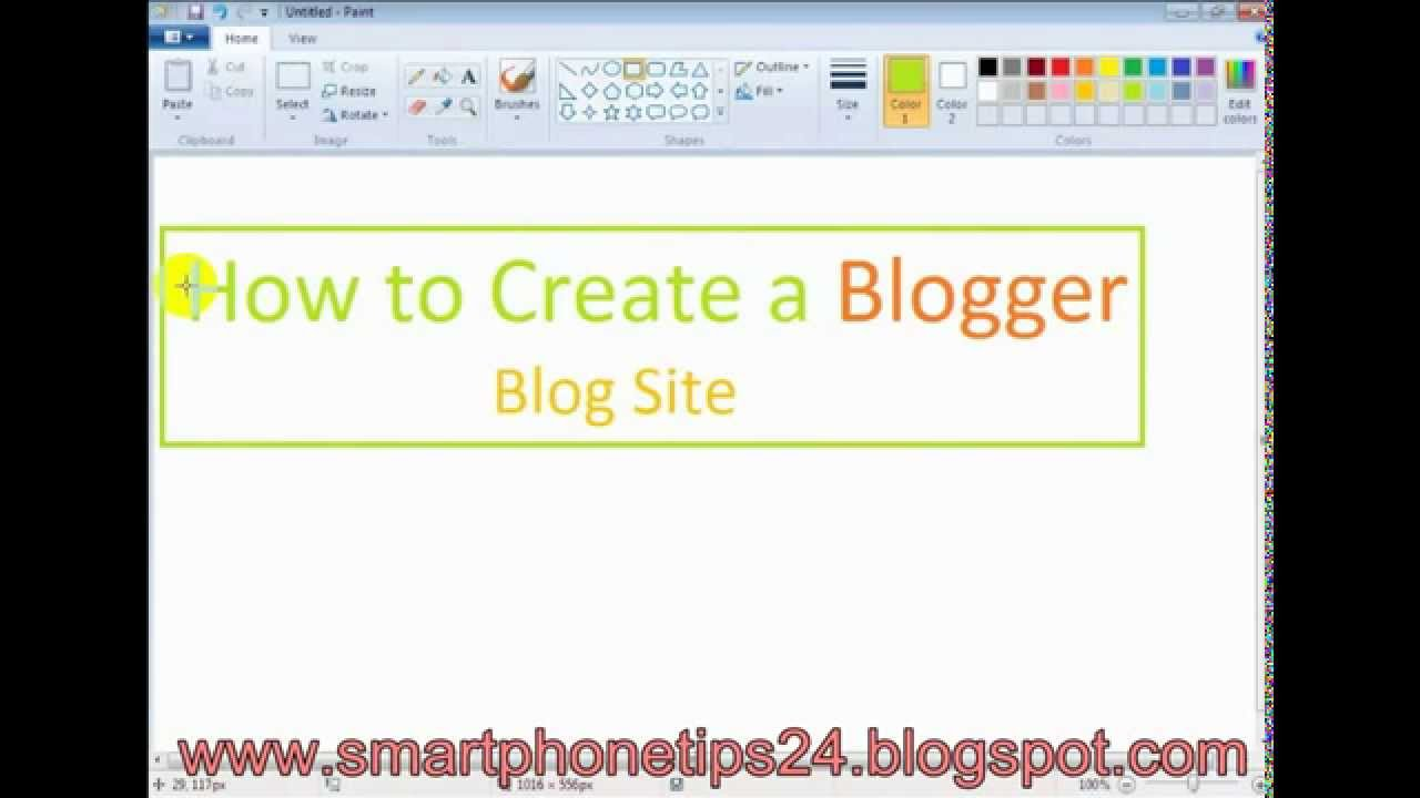 how to create a new blogger account