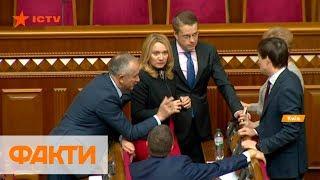 Роспуск парламента: как отреагировали политсилы