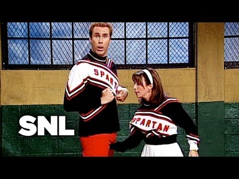 Spartan Cheerleaders at Tryouts Cold Open - SNL