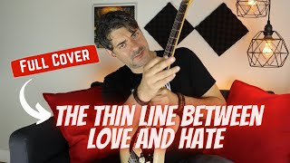 The Thin Line Between Love And Hate - Iron Maiden Guitar Cover