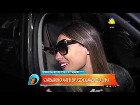 Pampita regresó a la Argentina y casi se cruza con la China Suárez