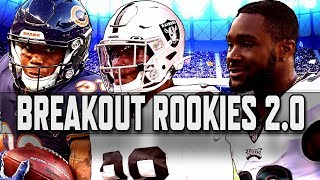 Fantasy Football 2019: Breakout rookies to draft 2.0 | NBC Sports