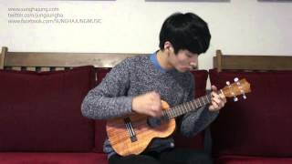 (Frozen OST) Let It Go - Sungha Jung (Ukulele Key Ver)