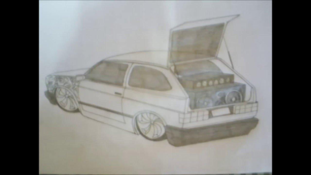 Carros desenhados por mim - YouTube