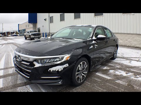 2020 honda accord hybrid muskegon grand rapids kalamazoo holland grandville mi 20h058 youtube youtube