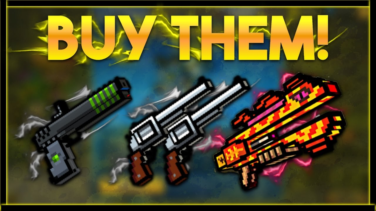 the best primary gun in pixel gun 3d