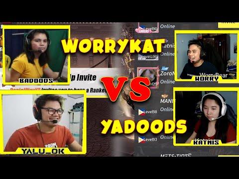 YADOODS VS WORRYKAT